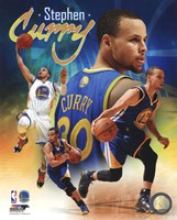 Stephen Curry 2014 Portrait Plus Fine-Art Print