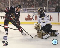 Jonathan Toews 2014 NHL Stadium Series Action Fine-Art Print