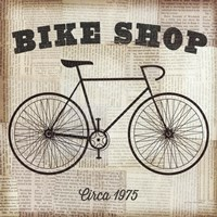 Bike Shop Fine-Art Print