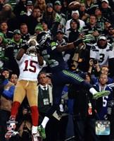 Richard Sherman pass deflection 2013 NFC Championship Game Fine-Art Print