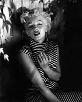 Marilyn Monroe 1954 Striped Dress Fine-Art Print