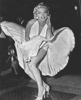 Marilyn Monroe 1954, New York City Fine-Art Print