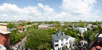 High angle view of buildings in a city, Wentworth Street, Charleston, South Carolina, USA Fine-Art Print