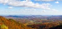 Clouds over a landscape, North Carolina, USA Fine-Art Print