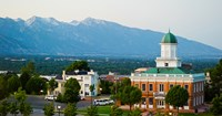 Salt Lake City Council Hall, Capitol Hill, Salt Lake City, Utah, USA Fine-Art Print