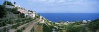 Small coastal village, Deia, Majorca, Balearic Islands, Spain Fine-Art Print