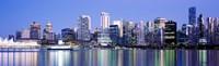 Vancouver skyline, British Columbia, Canada Fine-Art Print