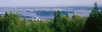 Vancouver viewed from from a far, British Columbia, Canada Fine-Art Print