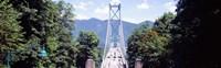 Lions Gate Suspension Bridge, Vancouver, British Columbia, Canada Fine-Art Print