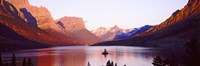 St. Mary Lake at US Glacier National Park, Montana, USA Fine-Art Print