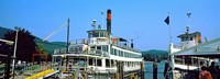 Minne Ha Ha Steamboat at dock, Lake George, New York State, USA Fine-Art Print