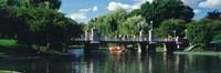 Swan boat in the pond at Boston Public Garden, Boston, Massachusetts, USA Fine-Art Print
