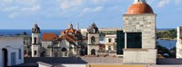 Traditional buildings of Havana, Cuba Fine-Art Print