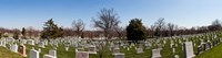Tombstones in a cemetery, Arlington National Cemetery, Arlington, Virginia, USA Fine-Art Print