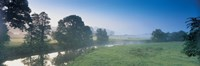 Taw River near Barnstaple N Devon England Fine-Art Print