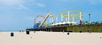 Pacific park, Santa Monica Pier, Santa Monica, Los Angeles County, California, USA Fine-Art Print