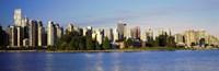 City skyline, Vancouver, British Columbia, Canada Fine-Art Print