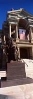 Statue at Wyoming State Capitol, Cheyenne, Wyoming, USA Fine-Art Print