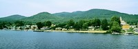 Lake George shore line, New York State, USA Fine-Art Print