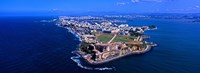 Aerial view of the Morro Castle, San Juan, Puerto Rico Fine-Art Print