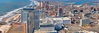 Aerial view of a city, Atlantic City, New Jersey, USA Fine-Art Print