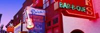 Neon signs on building, Nashville, Tennessee, USA Fine-Art Print