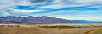 Landscape with mountain range in the background, Furnace Creek Ranch, Death Valley, Death Valley National Park, California, USA Fine-Art Print
