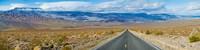Road passing through a desert, Death Valley, Death Valley National Park, California, USA Fine-Art Print