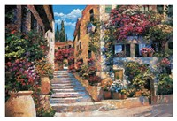 Riviera Stairs Fine-Art Print