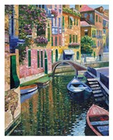 Romantic Canal Fine-Art Print