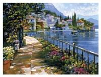 Sunlit Stroll Fine-Art Print