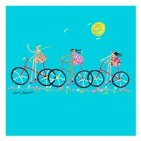 Tour de Girls Fine-Art Print