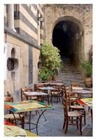 Caffe, Amalfi Fine-Art Print