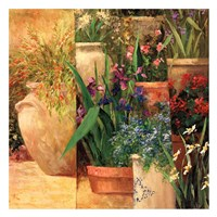 Flower Pots Left Fine-Art Print