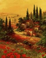 Toscano Valley I Fine-Art Print