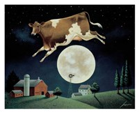 Cow Jumps over the Moon Fine-Art Print