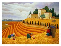 Village Harvest Fine-Art Print