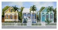 Key West Cottages Fine-Art Print