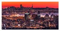 Oakland SF Twilight Fine-Art Print
