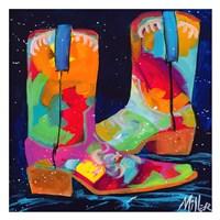 Dueling Boots Fine-Art Print