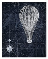 Hot Air over Paris II Fine-Art Print