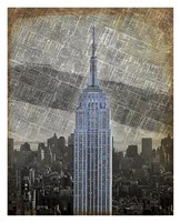 New York Empire State Building II Fine-Art Print