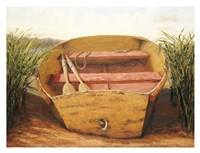Beached Dinghy Fine-Art Print