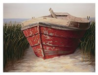 Red Boat Fine-Art Print