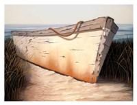 White Boat Fine-Art Print
