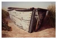 White Boat II Fine-Art Print