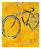 Gold Bike Fine-Art Print