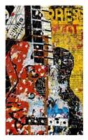 Graffiti Guitar Fine-Art Print