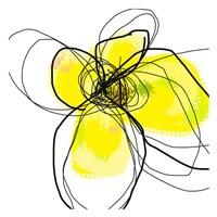 Yellow Petals Three Fine-Art Print