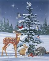Christmas Gathering Fine-Art Print